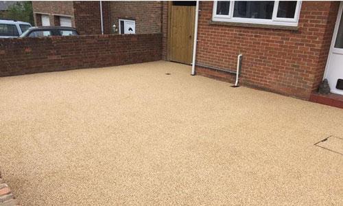 Banbury - Resin Bound driveway installation