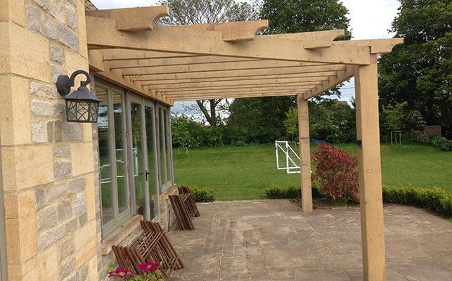 bespoke timber garden structures - Garden Structures