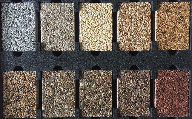 Resin Bound Driveways - Colours